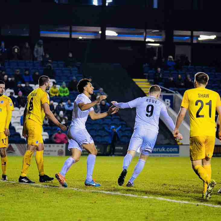 Challinor Wants Improvements Ahead of Guiseley Visit