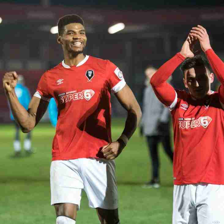Morley Salutes Another Late Showing From Salford City