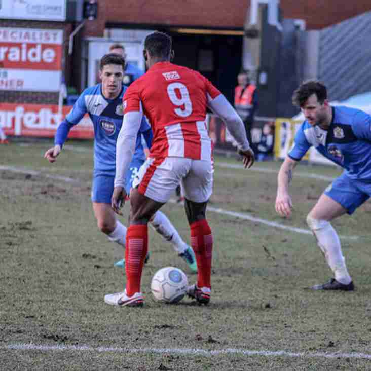 Wilkin Salutes Brackley Getting Another Win At Stockport