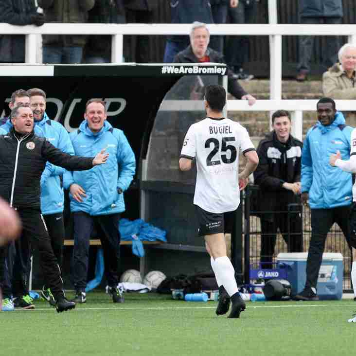 Smith Says Bromley Can Build From FA Trophy Heartbreak