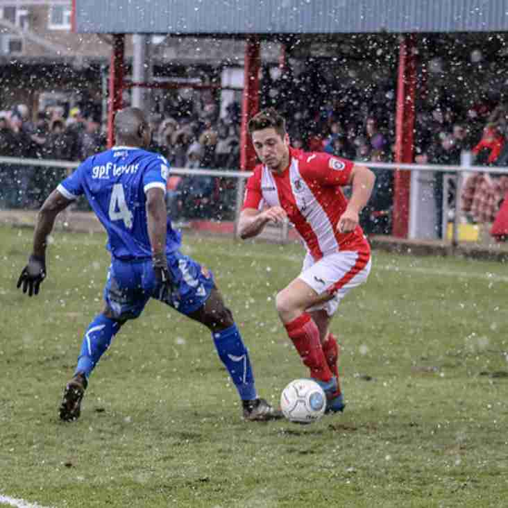 Wilkin Knows Home Leg Win Only Small Advantage For Brackley