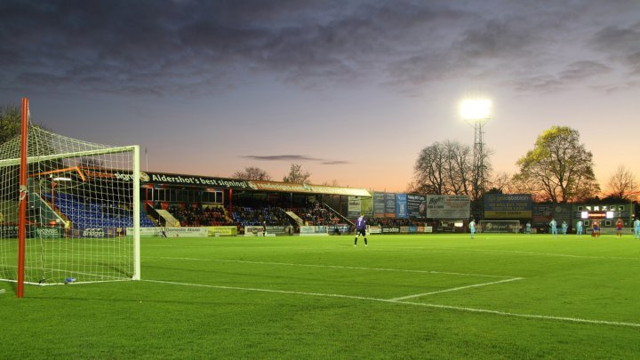 Aldershot Announce Plans To Redevelop Stadium The Vanarama