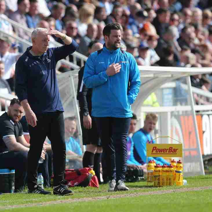 Bates Proud Of Togetherness At Hartlepool