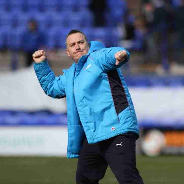 Mellon Excited By Ebbsfleet Visit In Quest For Wembley