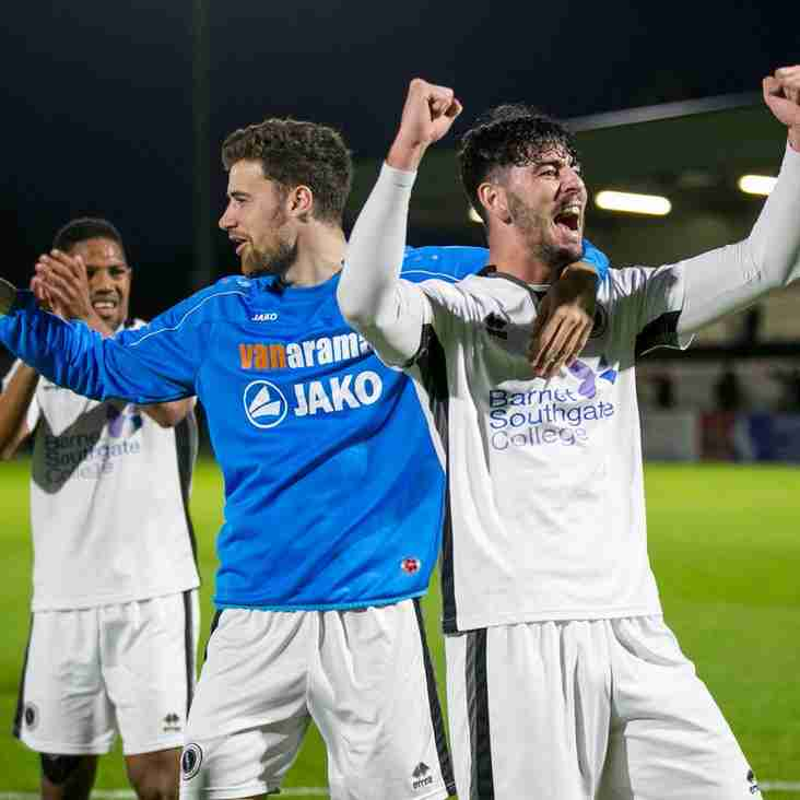 Boreham Wood's Garrard Says Wembley Visit Would Mean Everything