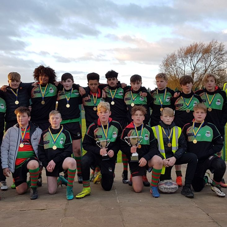Myton Warriors U14s win York 9s Tournament<