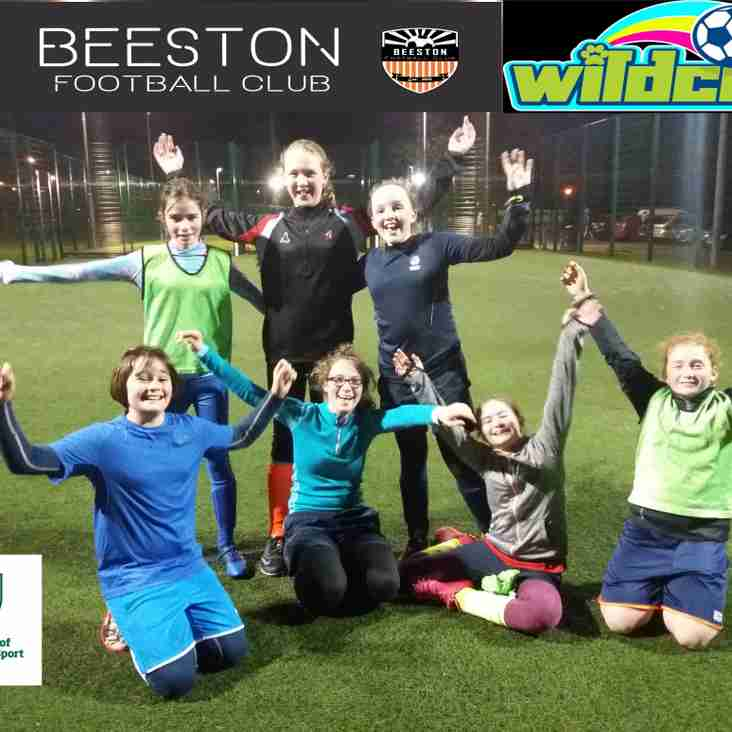 Come and play girls' football at Beeston FC