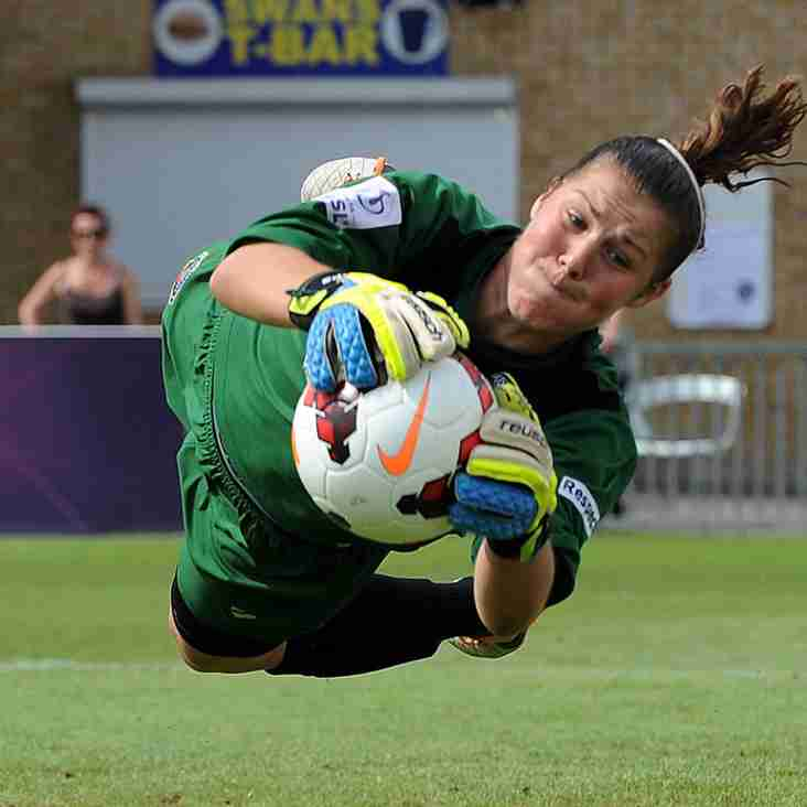 England Lionesses Goalkeeper Mary Earps Supports Beeston Wildcats