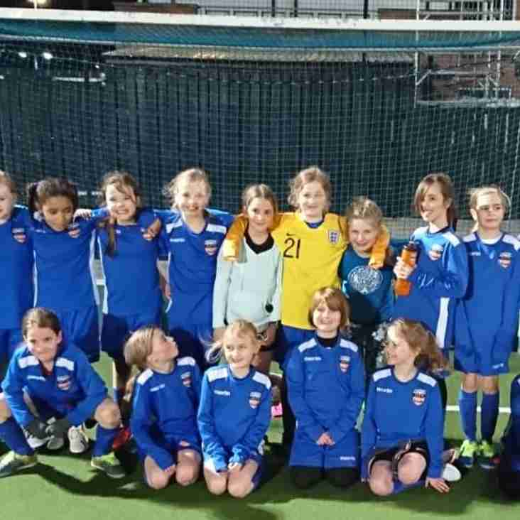 'I enjoy it more and more every week...' Beeston Wildcats talk girls' football
