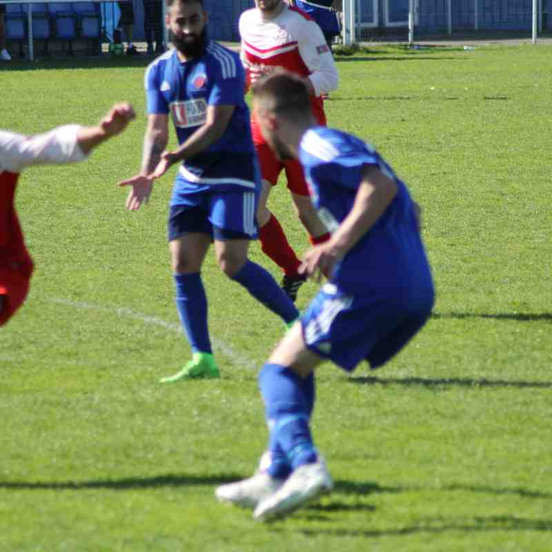 Sikh Hunters v Market Drayton Town 5th May 2018
