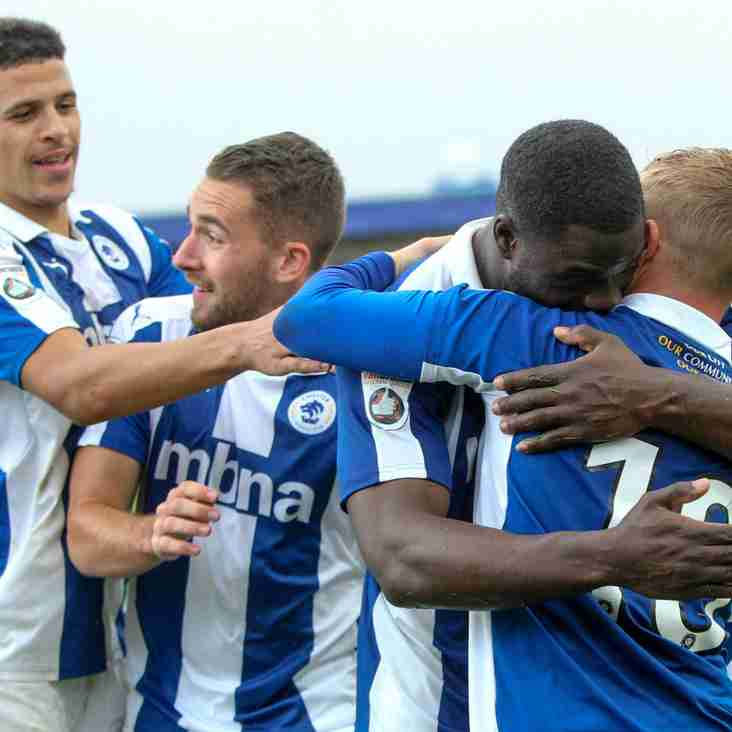 Stand And Deliver! Chester Secure An Off-field Boost
