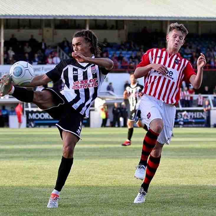 Bath City Boss Knows He's His Working Players Hard