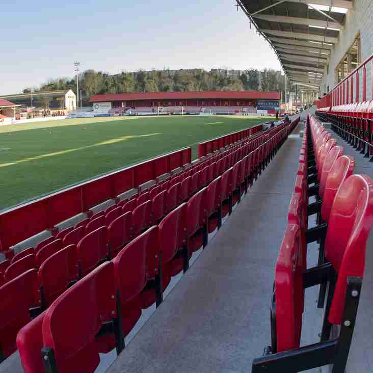 Building Work Stopped On Ebbsfleet's New Stand