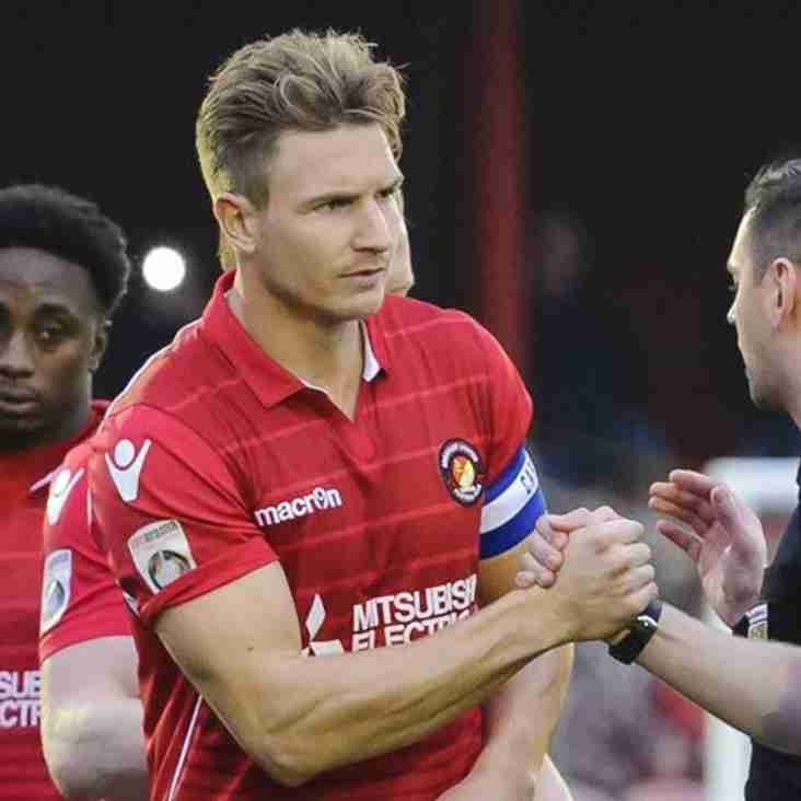 Ebbsfleet Captain Winfield Will Sit Out Next Six Months