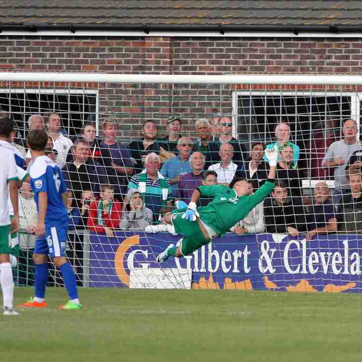 Bognor's Unbeaten Start Is No Surprise To Striker Pearce