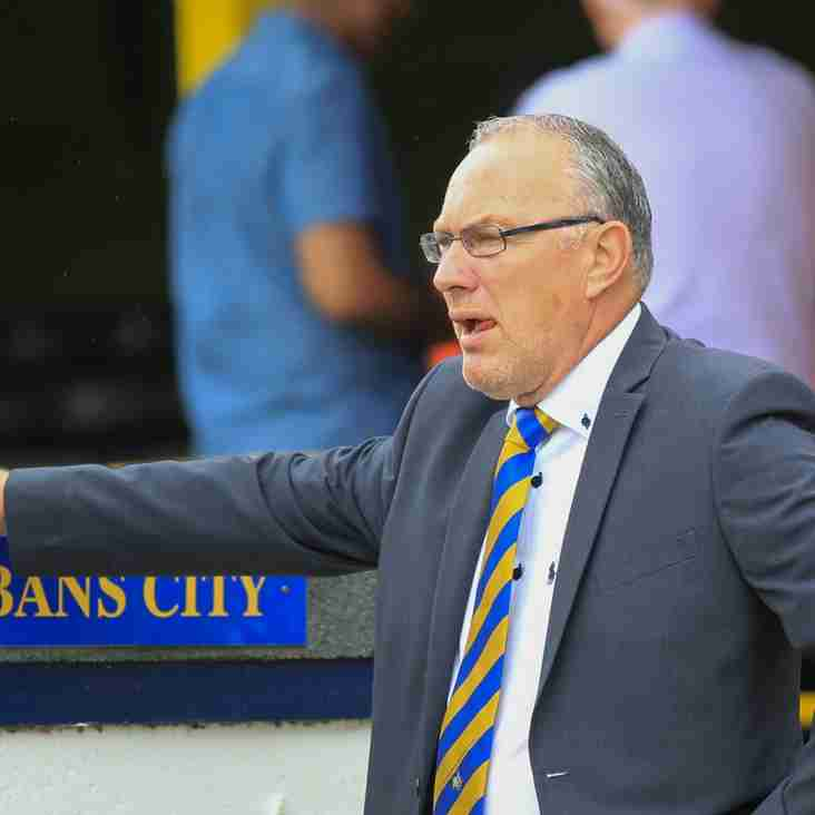 Saints 'Didn't Turn Up' At Braintree Says Allinson