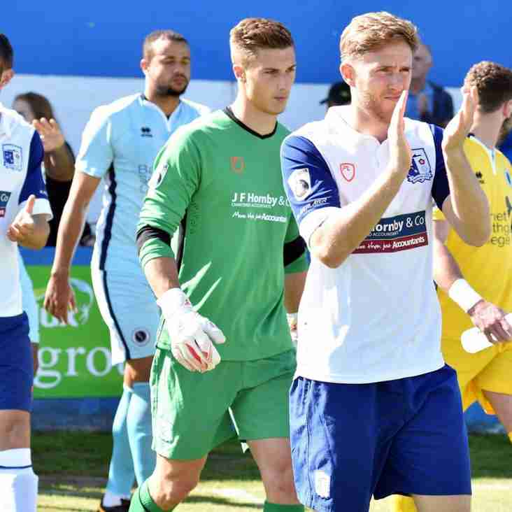 Bravery Of Barrow Stand In Gives Bluebirds A Vital Victory