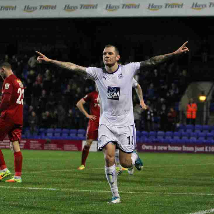 Mellon Knows The Power Of Last Night's Three Points For Rovers