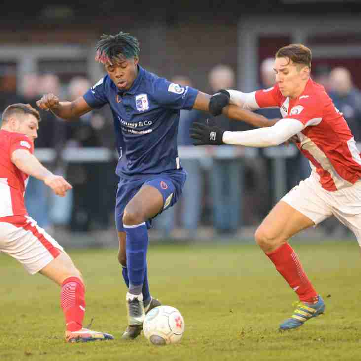 Wilkin: My Brackley Players Showing The Table Doesn't Lie