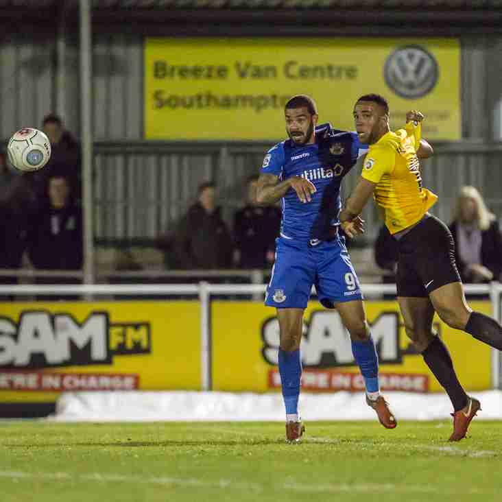 Dover 'The Better Side' Despite Late Defeat At Eastleigh