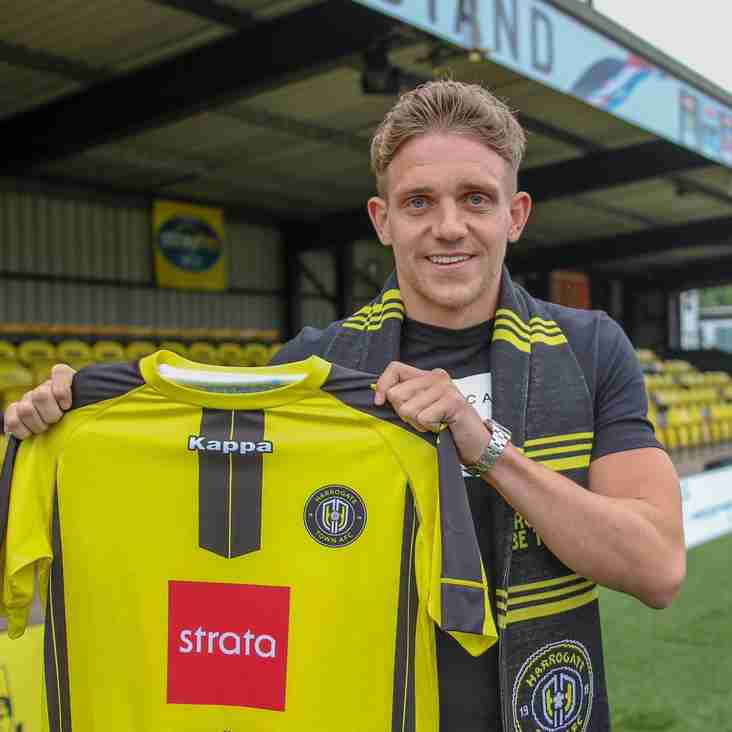 Harrogate Make Their First Move In The Transfer Market