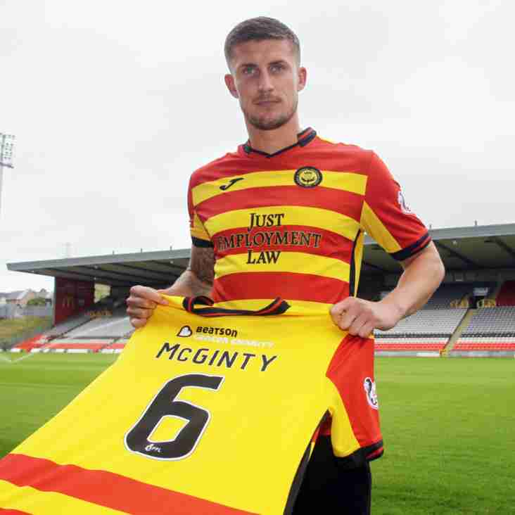 McGinty Is A Gull No More As Thistle Spike The Centre-Back