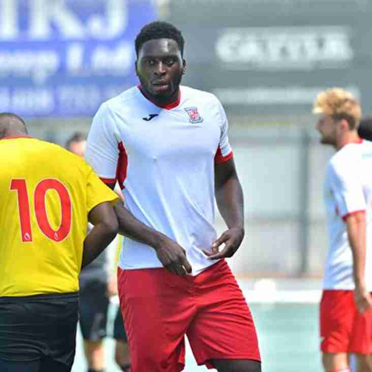 Effiong Comes Inih As Dover Do Their First Bit Of Business