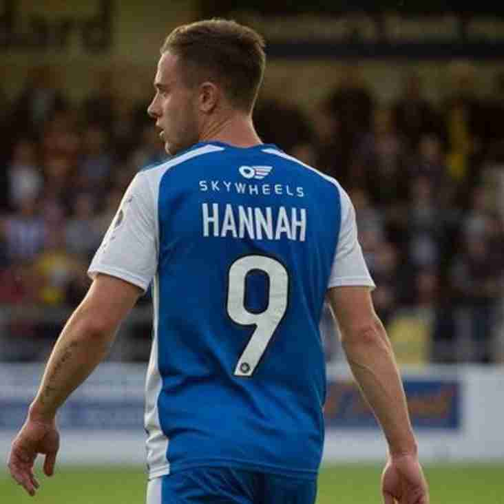 Hannah Heads To Gainsborough After His Chester Exit