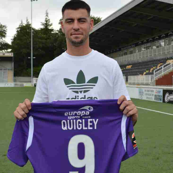 Quigley Is Off The Mark Quickly As Stones Sign Striker
