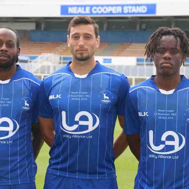 Hartlepool To Wear Special Kit As They Remember Cooper