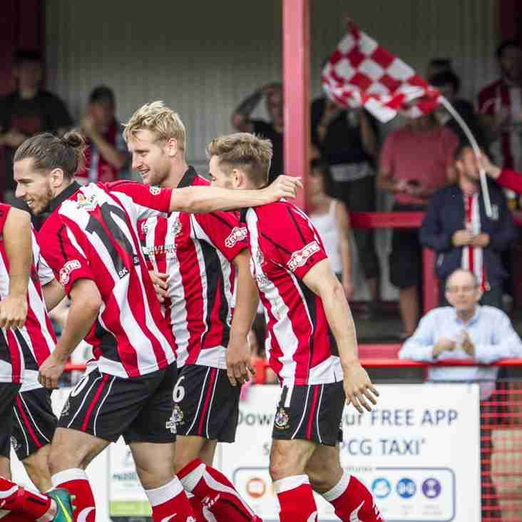 Altrincham Boss Parkinson Is Really Thinking Big