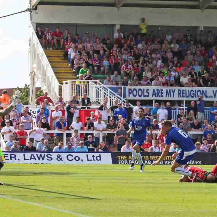 Pools Boss Bates: Now Hartlepool Really Have Lift Off!