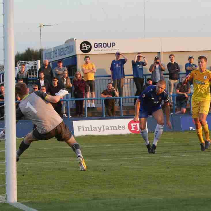 Blues Closing In As Ashton Are Hit For Four