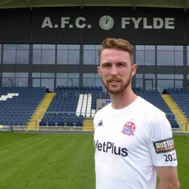 Kellermann Joins Fylde On a Season Long Loan Deal