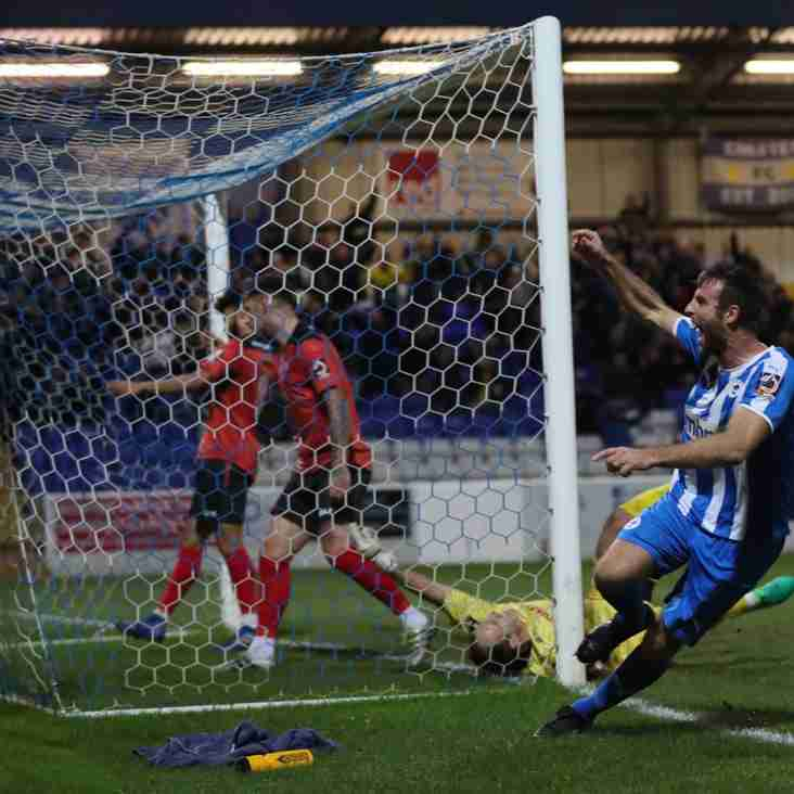 It's Unbelievable Says Johnson As Chester Hold Firm