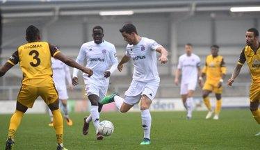 Challinor Lets Rip As Fylde Fold At Dover