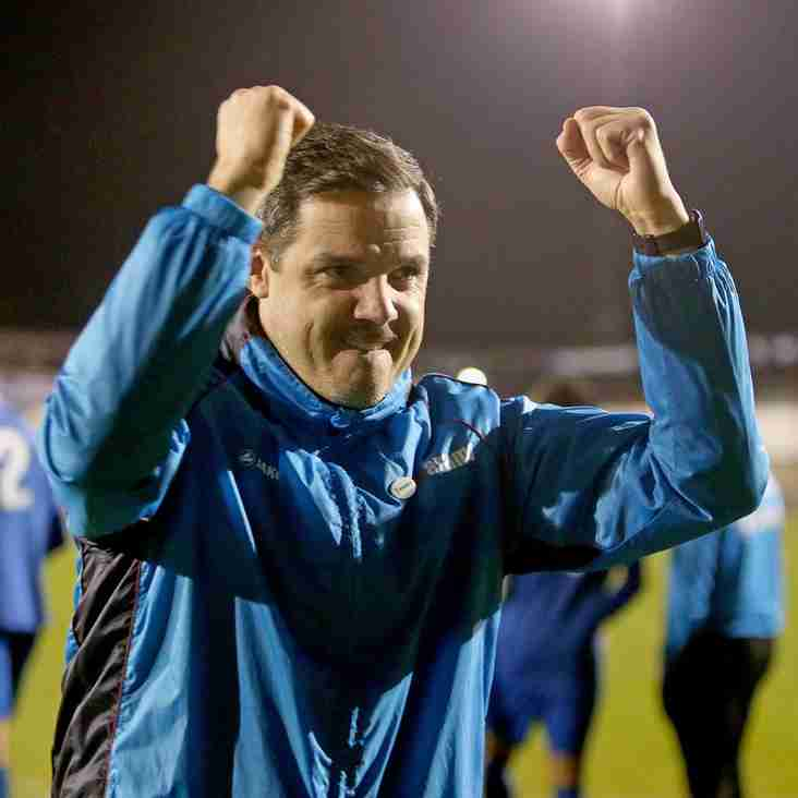 Boss Brennan Has A Positive Message For Billericay Fans
