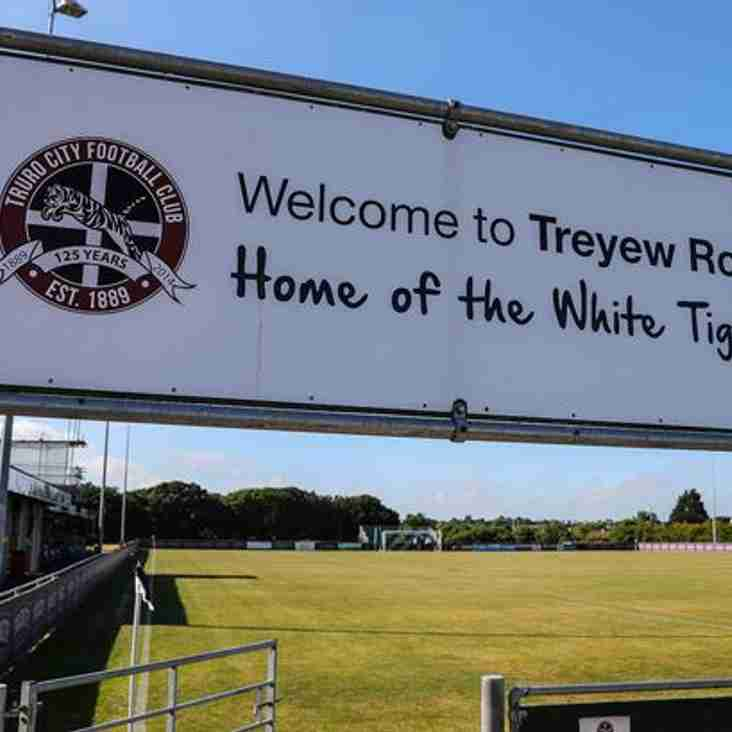 Truro Confirm Their Treyew Road Return This Weekend