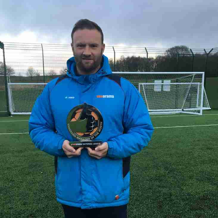 Evatt On The Up As Barrow Boss Claims December Award