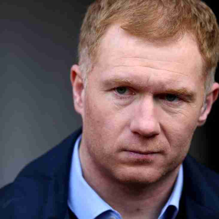 Scholes Will Stay A Part Of Salford The Club Announce