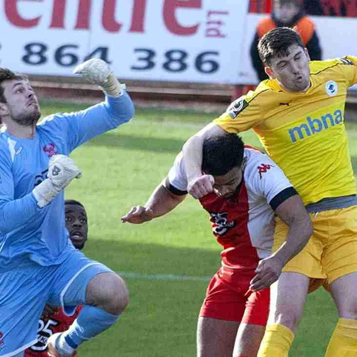Yates Won't Be Letting Harriers' Play-Off Dream Die