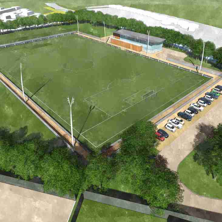Blues' Big Hub Plans Have The Club Looking Forward