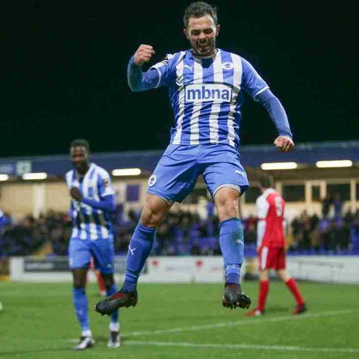 We're Not Finished Yet Warn Chester After Darlo Delight
