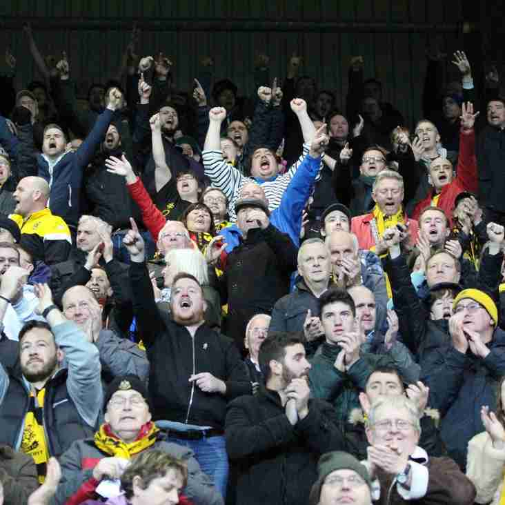 Attendance Table: National League North Standings