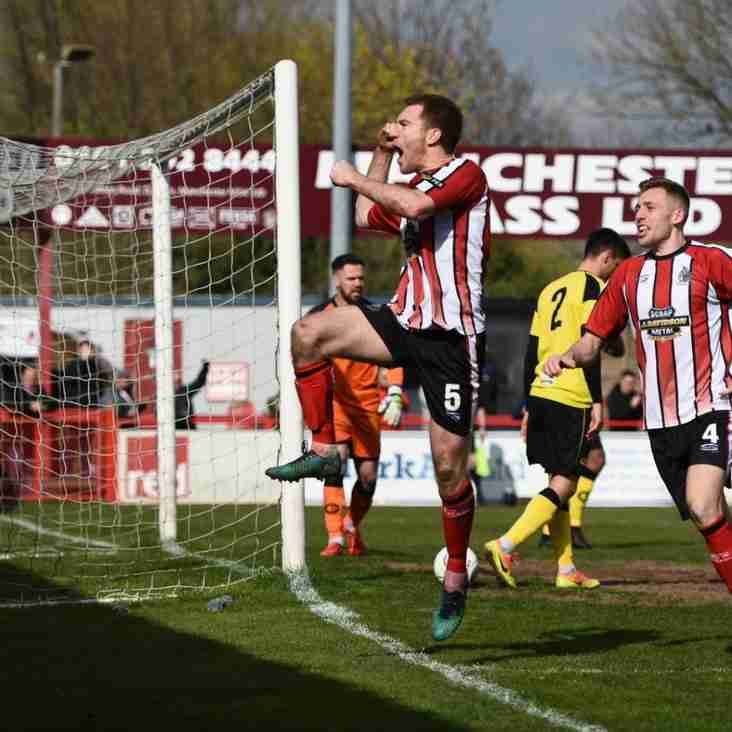 Parkinson Pleased As Alty Continue To Fire In The Goals
