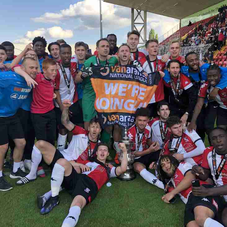 It's Joy For Woking And For Chorley In Promotion Finals