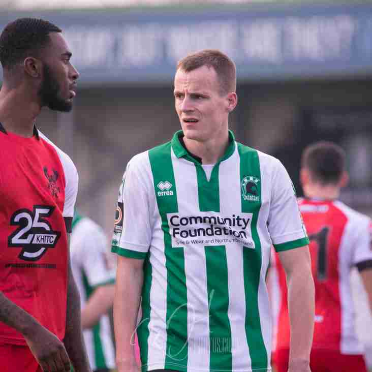 Watson Is Given The Green Light As Blyth Man Kieran Signs On