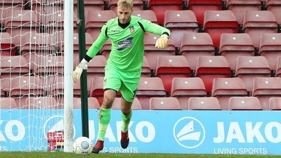 Hughes Happy As Keeper Lainton Signs Agrees New Deal