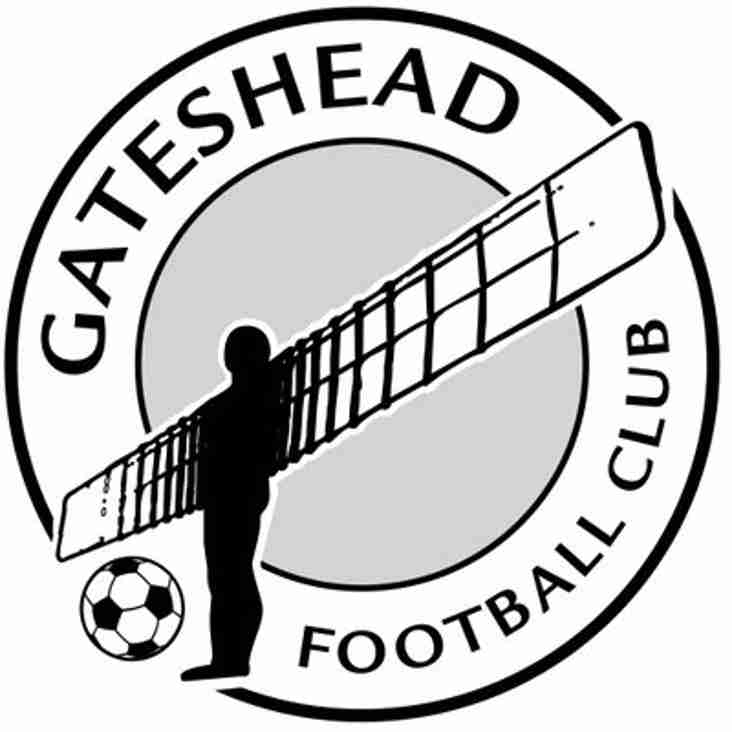 National League Statement: Gateshead Disciplinary Hearing