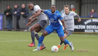 One Striker In And One Out At Chippenham